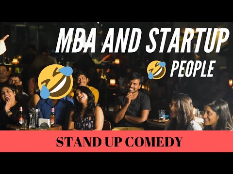 SWIGGY AND MBA | English stand-up comedy by Sanjay Manaktala