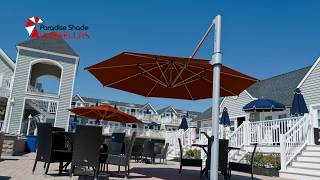 Large Outdoor Umbrellas Gold Coast - Better Quality Than Bunnings