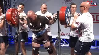 Приседы за 300 в.к. до 120кг  World Classic Powerlifting Championships 2018 BEST SQUATS