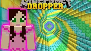 Repeat youtube video Minecraft: SECRET TREASURE DROPPER!! - THE ABSURD DROPPER - Custom Map [2]