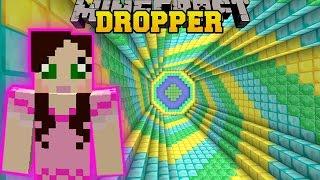 - Minecraft SECRET TREASURE DROPPER THE ABSURD DROPPER Custom Map 2