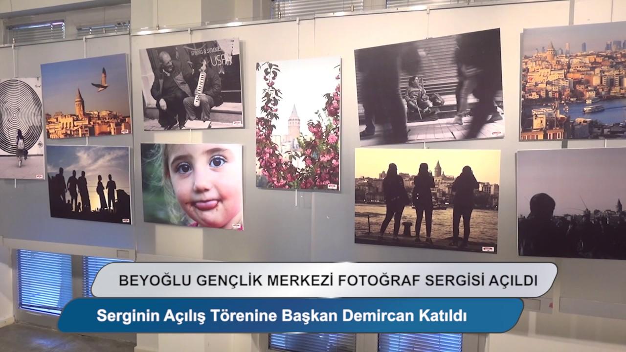 Beyoğlu Gençlik Merkezi Fotoğraf Sergisi Açıldı