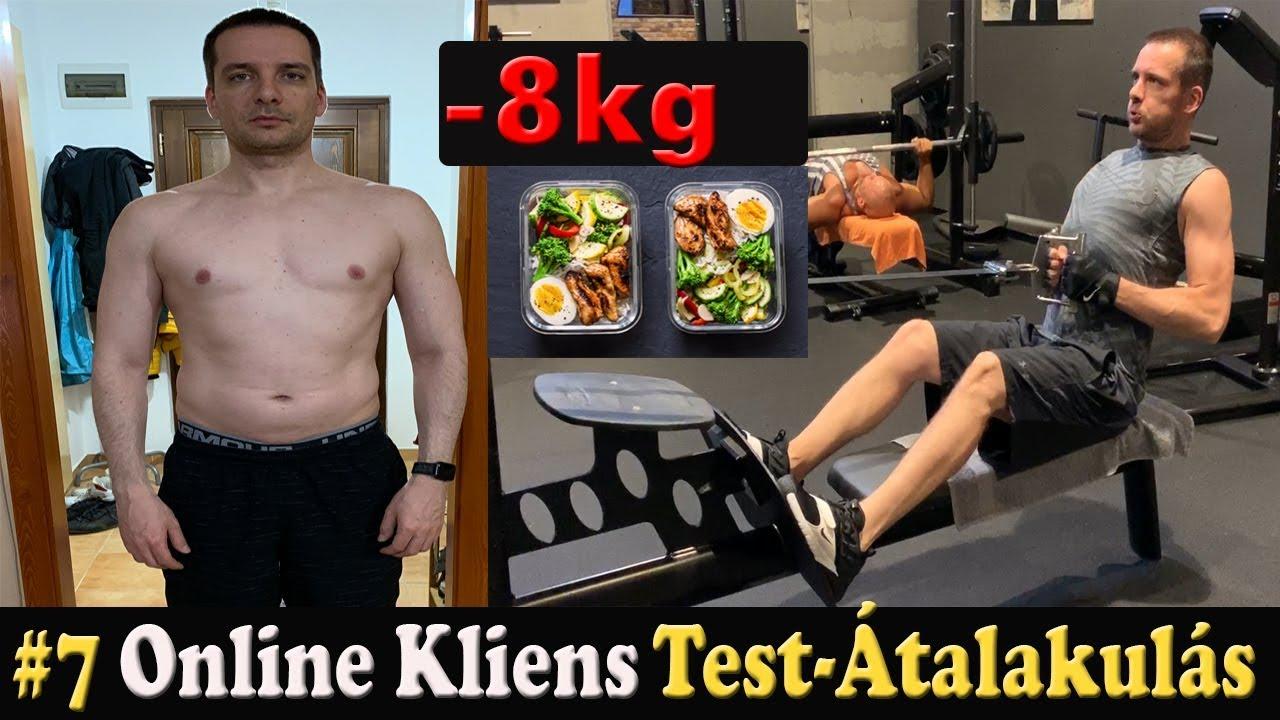 8 kg fogyás 2 hét alatt Gyorsabb módja a zsírvesztés őszinte felülvizsgálata
