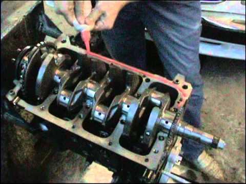 Продолжение разборки и переборки двигателя  Chrysler