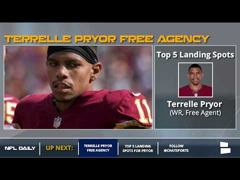 Terrelle Pryor: 5 NFL Teams That Could Sign Him In Free Agency
