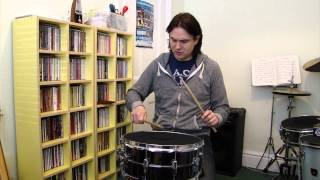 Drum lesson 7: Double Stroke Roll