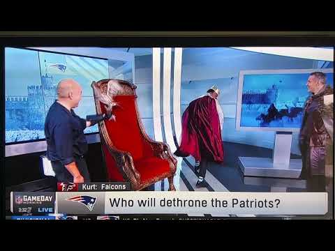 Willie McGinest scared of a falcon