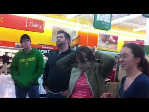 Singing the Gospel in Walmart