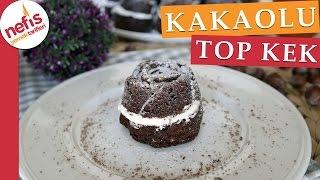 Kakaolu Fındıklı Top Kek Yapımı - Kolay Kek Tarifleri - Nefis Yemek Tarifleri