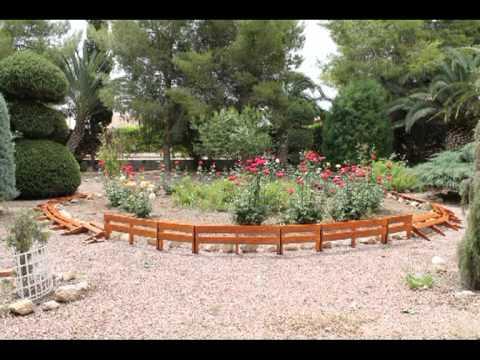 Valla americana para jard n tratadas youtube - Valla madera jardin ...