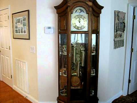 howard miller triplechime grandfather clock st - Howard Miller Grandfather Clock