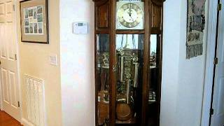 Howard Miller Triple-chime Grandfather Clock St. Michael's