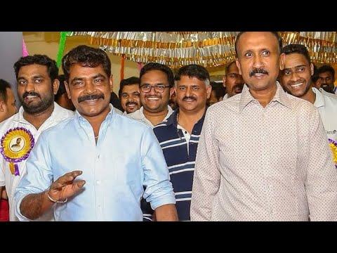 Aadhi Success Celebration  With  Antony Perumbavoor and SanthoshT Kurunila