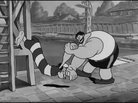 Popeye The Sailor - I wanna be a lifeguard