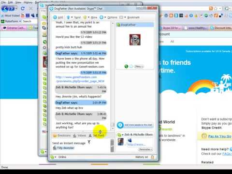 how to create a conference call on skype