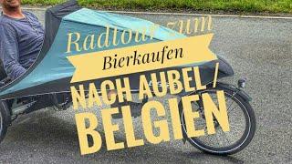 Radtour zum Bierkaufen nach Aubel / Belgien 🔴 Radtour mit dem Liegedreirad  'Hase Bikes Kettwiesel' Video