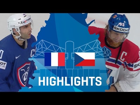 France - Czech Republic | Highlights | #IIHFWorlds 2017