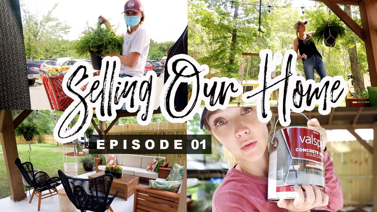"""How We Are Preparing Our Home To Sell! \\ """"Flying The Nest"""" EP. 01"""
