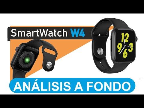 Reloj W4 Conócelo en detalle y a fondo - Smartwatch w4 replica con apariencia de Iphone Watch.