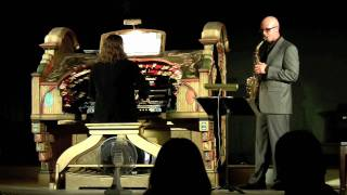 Saxophobia, Rudy Wiedoeft - Sax & Theatre Organ