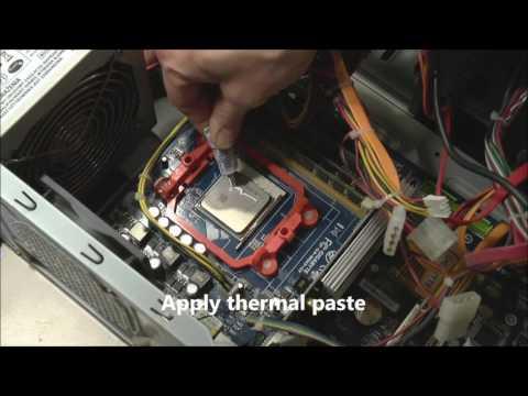 How To Replace Processor AMD On Gigabyte GA-M56S-S3 - Phenom II X4 - Wymiana Procesora