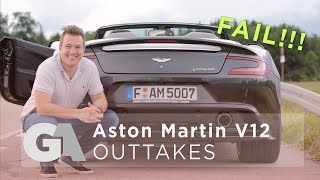 homepage tile video photo for Groschi Automotive Outtakes #1 - Aston Martin Vanquish