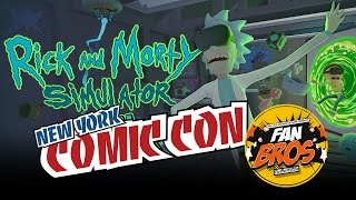 Rick and Morty VR @ Adult Swim Games - NYCC 2016