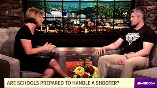 """NBC WBIR 10 News Segments in Response to Active Shooter in Santa Fe, """"What Can Be Done""""."""