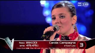 The Voice IT | Serie 3 | LiveShow 14 | Carola Campagna - Se solo