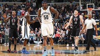 Zach randolph records first career triple-double