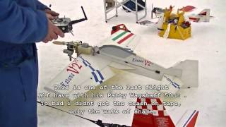 Patty wagstaff - AXN - Kyosho calmato - Katana 70 v2 - Crash and flying in Ringebu Norway