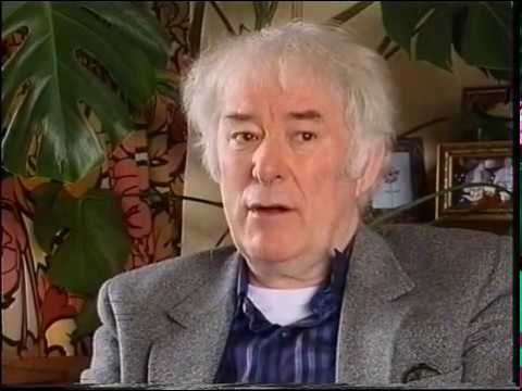 Seamus Heaney talks about his youth