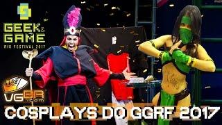 COSPLAY TOUR GGRF - GEEK & GAME RIO FESTIVAL 2017