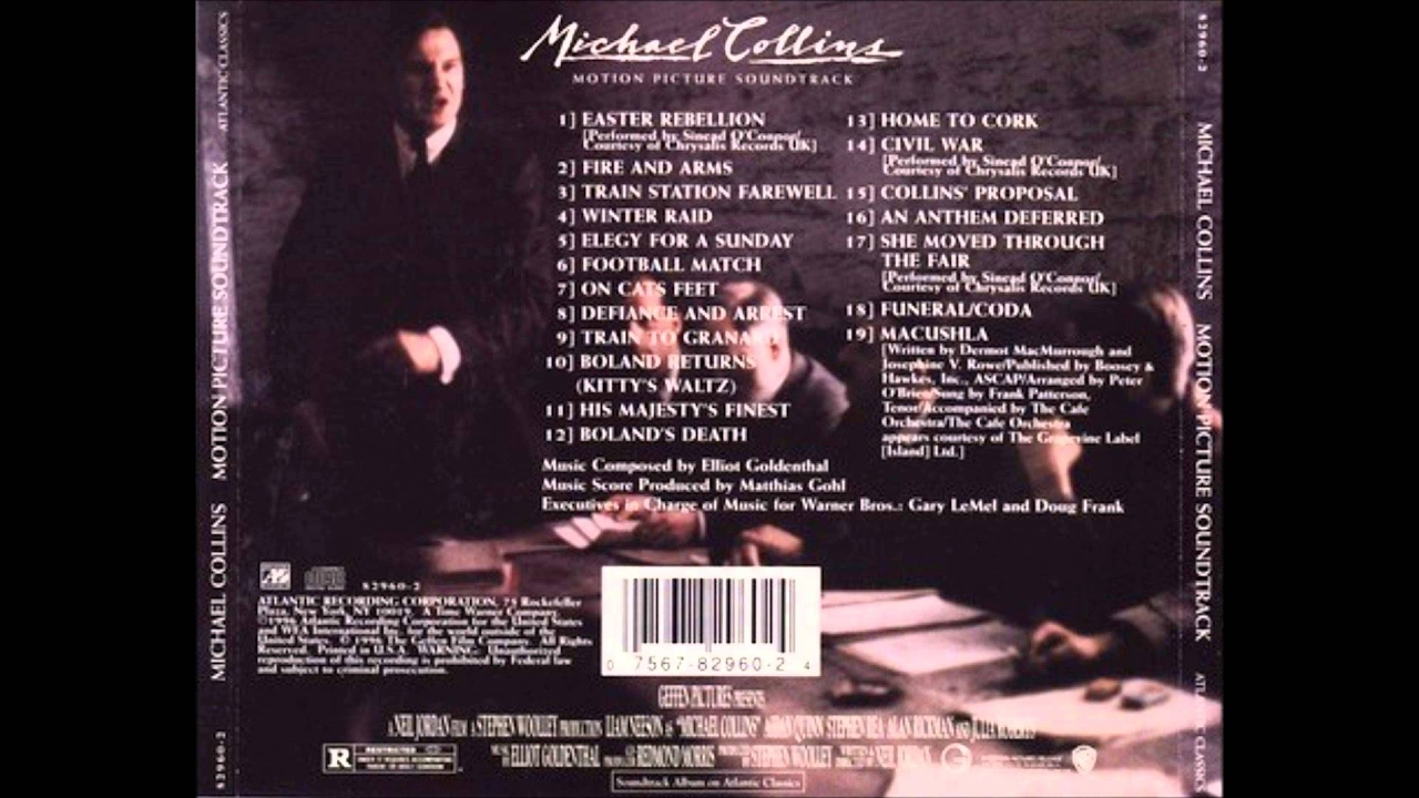 Michael Collins - Score by Eliot Goldenthal (Full Album/OST)