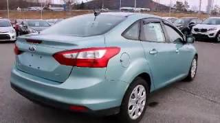 видео 2012 Ford Focus Titanium w/Leather+Sunroof $129 bi-weekly