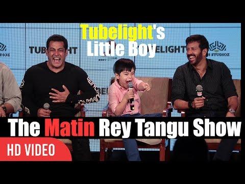 The Matin Rey Tangu Show With Salman khan And Kabir Khan | Fun Night With Tubelight