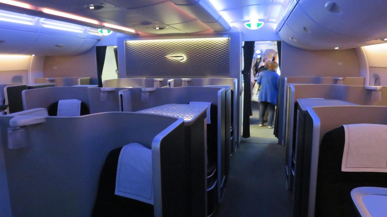 British airways a380 first class johannesburg to london for Ba cabina di prima classe