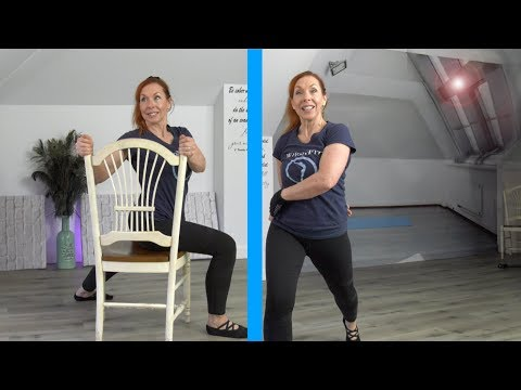 Who is Jesus?  WholyFit Stretch + Chair Options (Part 2)