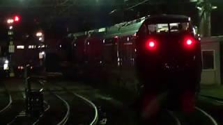 〔4K UHD|cc〕JR東日本・上越線:水上駅、E655系/■団体臨時列車■『和【なごみ】』発車シーン。《9032M》