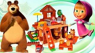 МАША И МЕДВЕДЬ Новый Сборник обзор игрушек Видео для детей про Машу и Медведя Распаковка игрушки