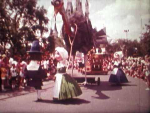 America on Parade Walt Disney World 1976 Promo Souvenior film Hbvideos Cooldisneylandvideos