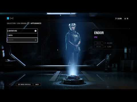 FREE LEIA ENDOR SKIN?? TOO BAD IF YOU BOUGHT IT!