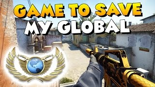 CS:GO - Game to save my Global - Full MatchMaking #15
