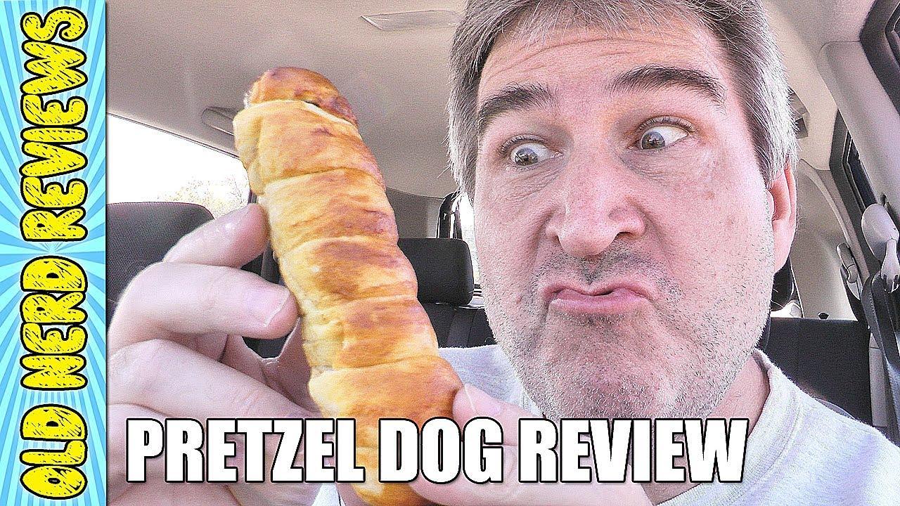 auntie anne's original pretzel dog review