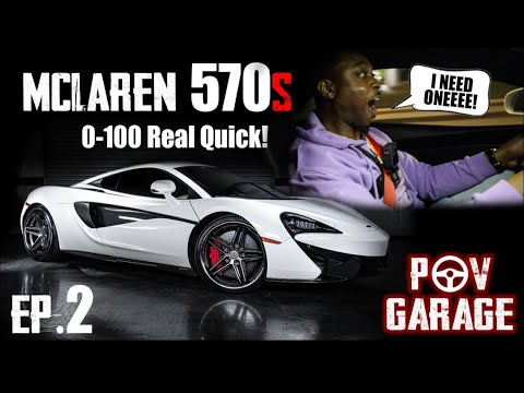 How to drive a Mclaren 570s properly!! Started out calm, then this happened😱!!!