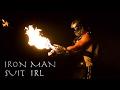 Working Iron Man Superhero Suit - Real Life (Burning Lasers + Wrist Flamethrower)