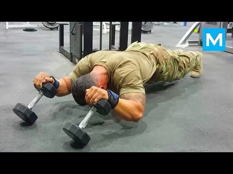ARMY MONSTER - Super Soldier Diamond Ott | Muscle Madness