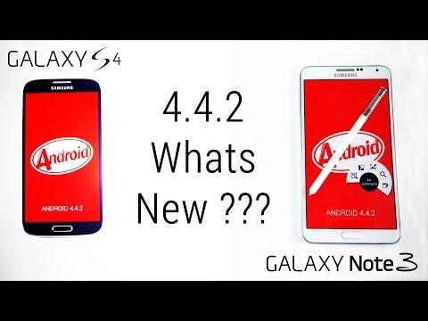 Características y novedades en la interfaz de Android 4.4.2 para Galaxy S4 y Galaxy Note 3