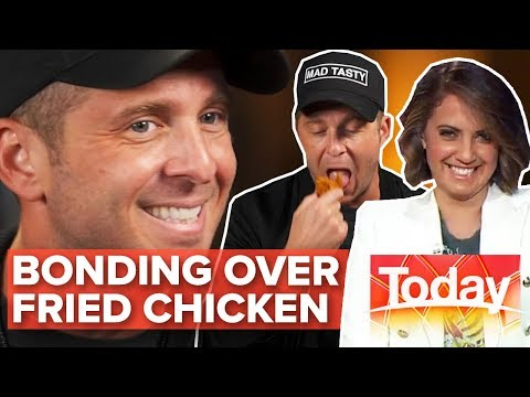 Ryan Tedder Thought Today Host Smelt Like Fried Chicken | Today Show Australia