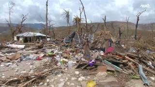 هايتي الخارجة من الاعصار تعاني الكوليرا وتعاين الدمار